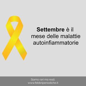 Settembre mese internazionale della Malattie Autoinfiammatorie